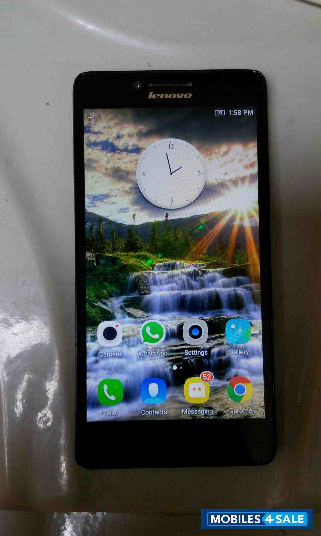 Black Lenovo  A6000 plus